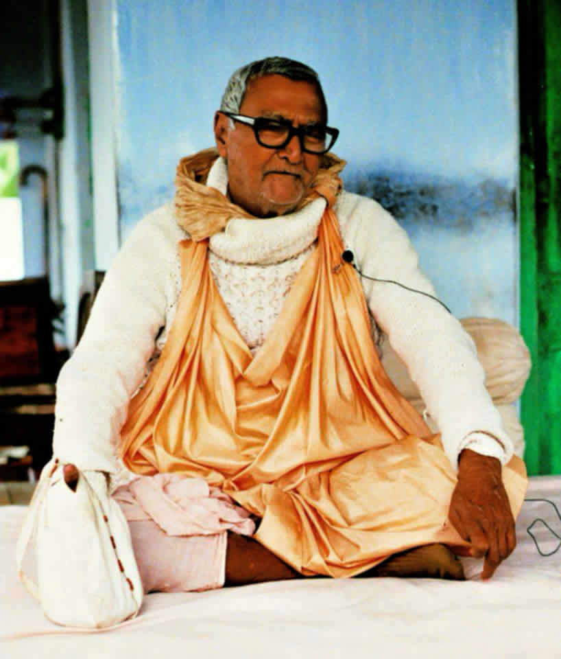 Sridhar Swami in later years